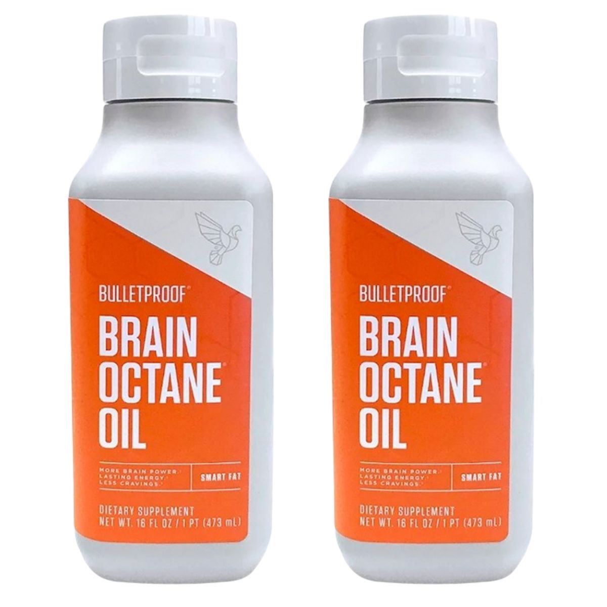 Kit 2 MCT Brain Octane Oil 473ml BulletProof - Óleo de Coco Concentrado