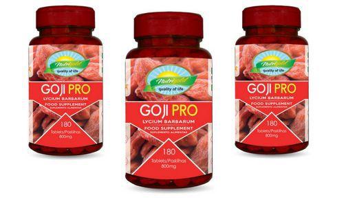 Kit 3 Goji Pro Pote 180 Comprimidos 800mg