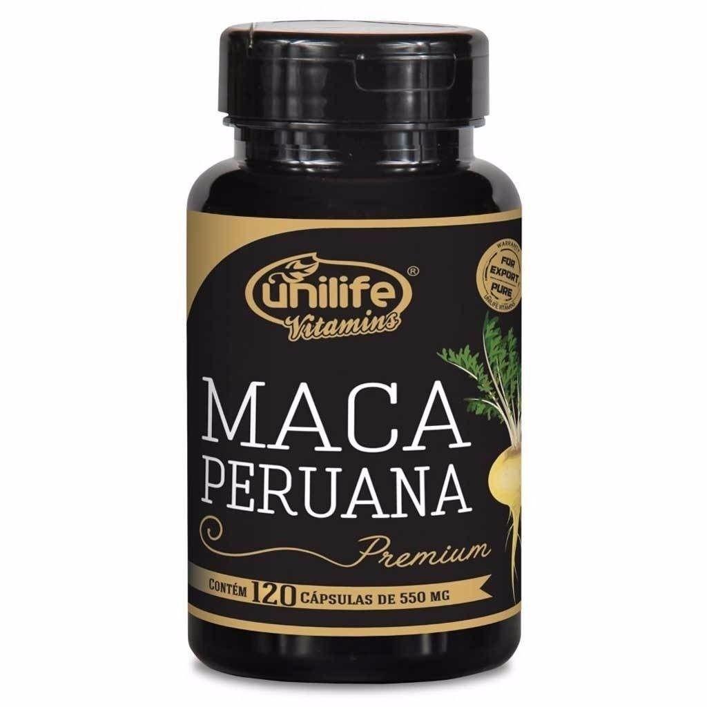 Kit 4 Maca Peruana Premium 120 caps + 3 Magnesi dimalato Meissen 60 Caps