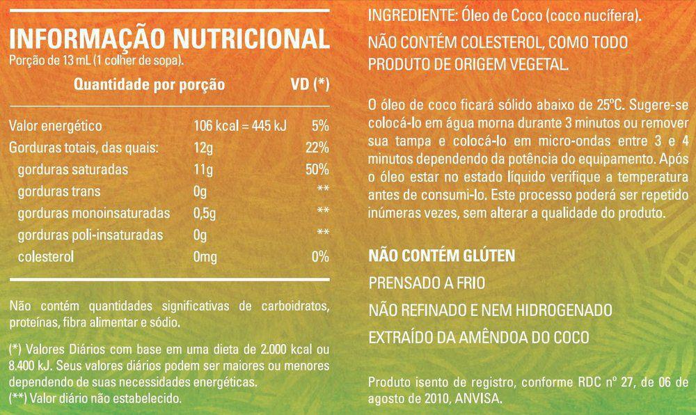 Kit Oleo De Coco Extra Virgem 500ml + Manteiga Ghee Clarificada 500ml