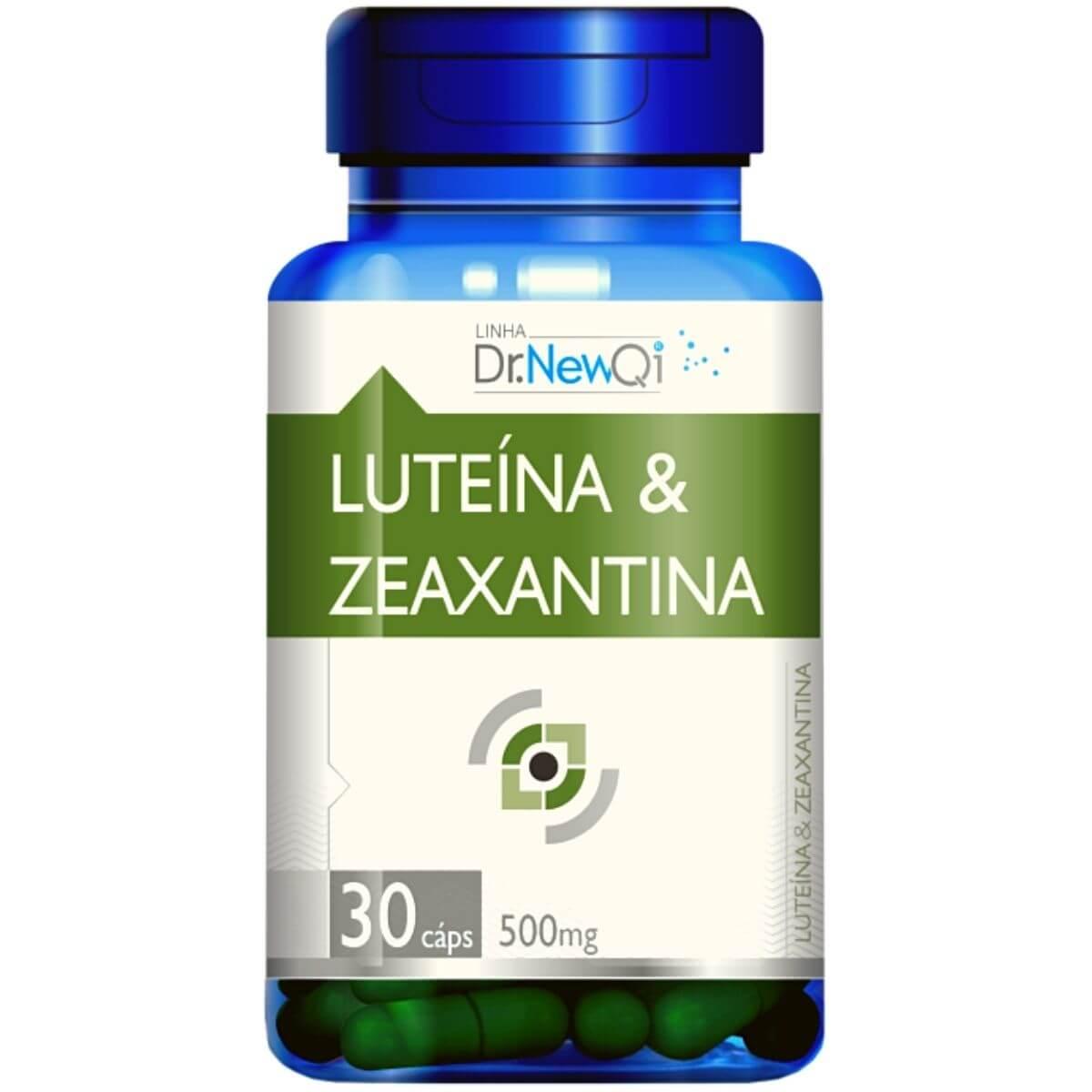 Luteína E Zeaxantina 30 Cápsulas 500mg - Dr. NewQi