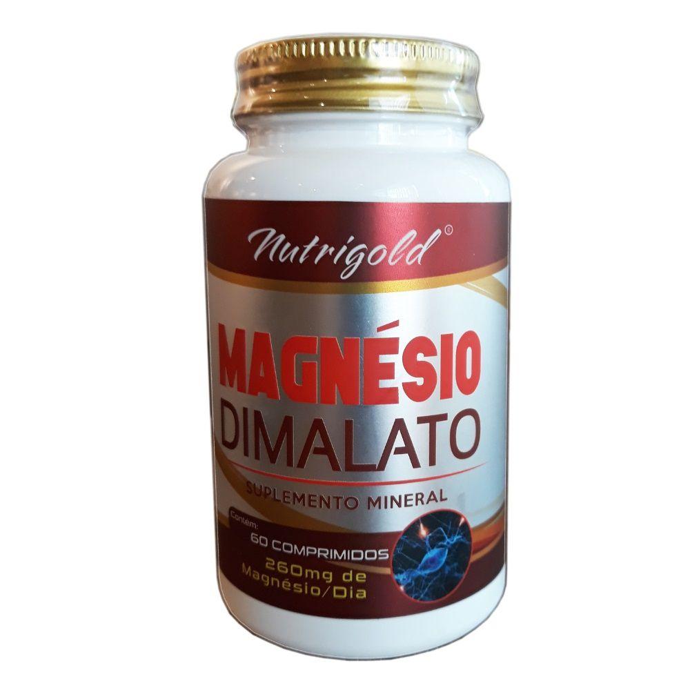 Magnésio Dimalato 60 Comprimidos Nutri Gold
