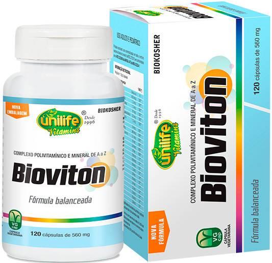 Bioviton Polivitamínico 120 Cápsulas 560mg - Unilife