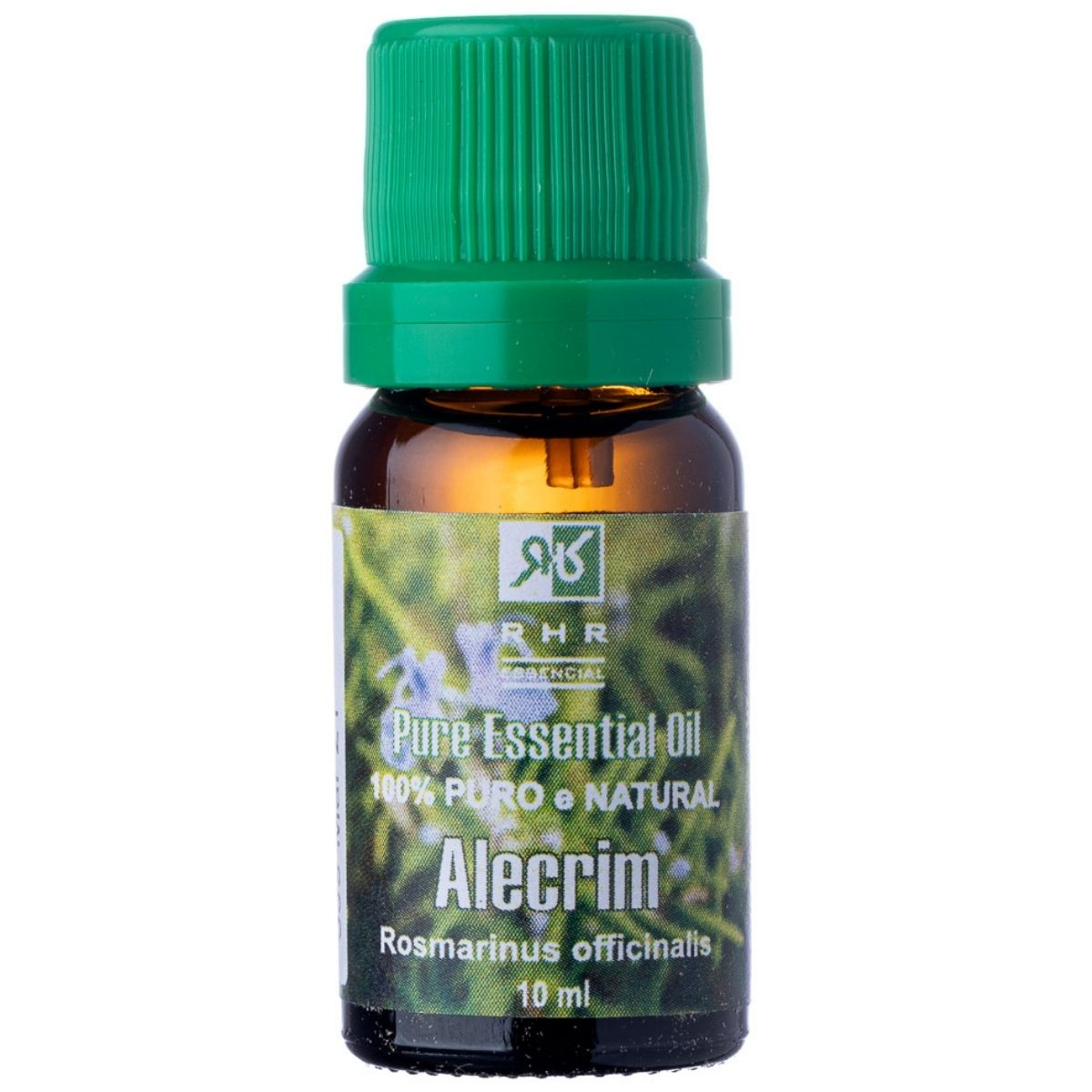 Óleo Essencial Alecrim 10ml RHR - 100% Puro e Natural