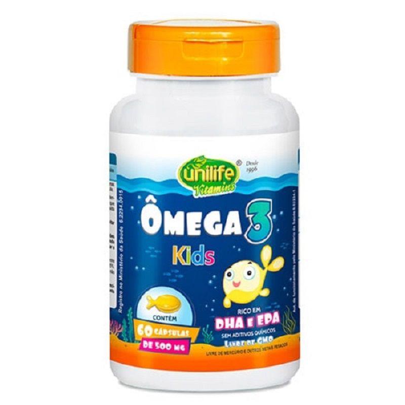 Ômega 3 Kids 60 Cápsulas - Unilife