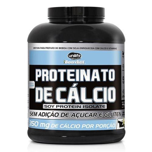 Proteinato de Cálcio 4kg ( Proteína Isolada de Soja ) Unilife