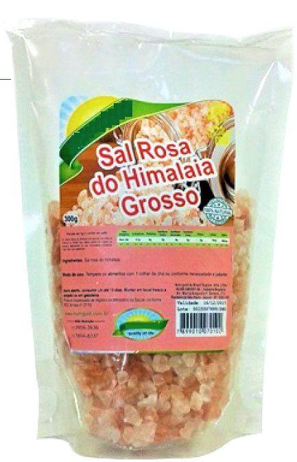 Sal Rosa Do Himalaia Integral 100% Natural