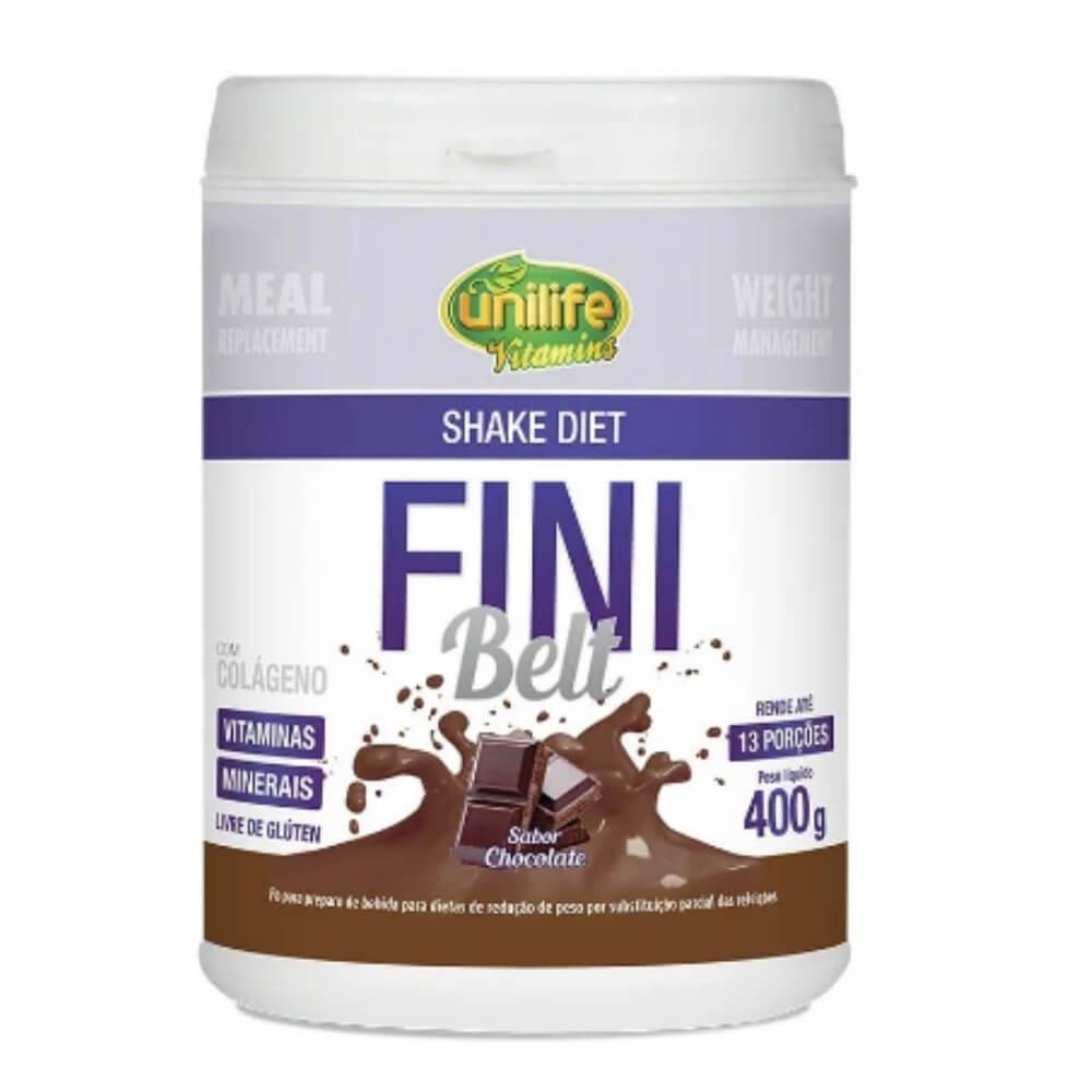 Shake Diet Fini Belt 400g Sabor Chocolate - Unilife