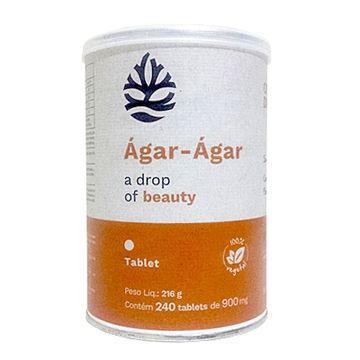 Super Agar Agar 100% Vegetal Ocean Drop 240 Tabletes