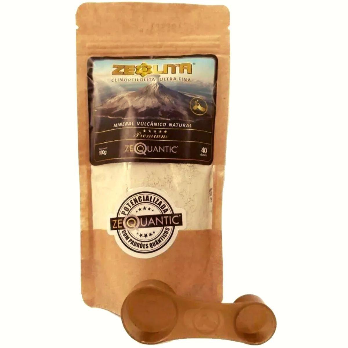 Zeolita 100g Premium Mais Potencializada + Colher Dosadora
