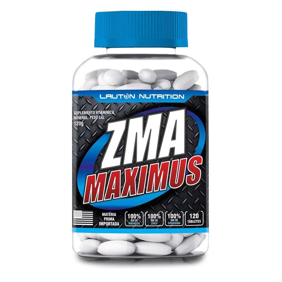 ZMA Maximus Lauton Nutrition - 120 Tablets 1G