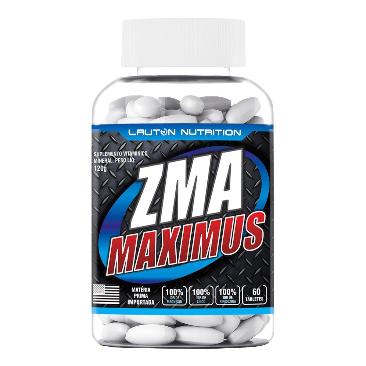 ZMA Maximus Lauton Nutrition - 60 Tablets 1G