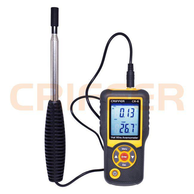 CR-6 Termo anemômetro de fio quente