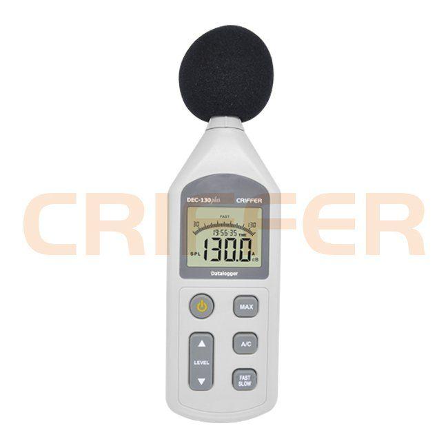 DEC-130 Plus Medidor de nível sonoro com datalogger