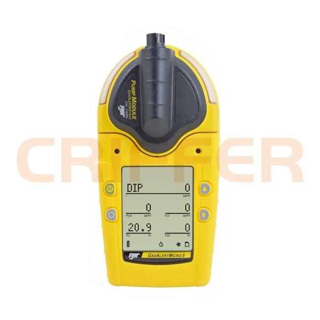 Locação de 1 detector de PID (VOC's) e gases combustiveis GasAlert Micro 5 PID