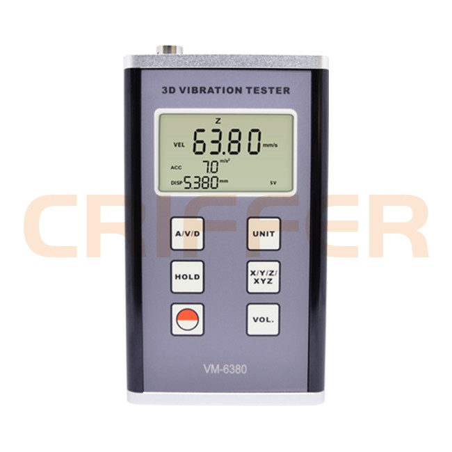 Locação de 1 medidor de vibração VM-6380