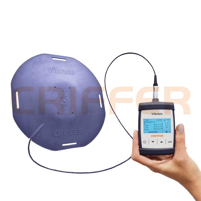 Locação semanal de 1 medidor de vibrações de corpo inteiro, mãos e braços Vibrate