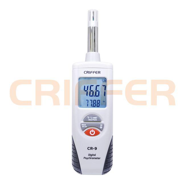 Locação semanal de 1 psicrômetro digital portátil modelo CR-9