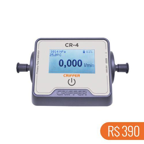 Locação semanal de 1 calibrador digital para bombas de amostragem CR-4