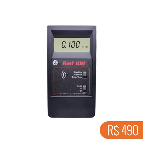 Locação semanal de 1 detector de radiações ionizantes Radalert-100