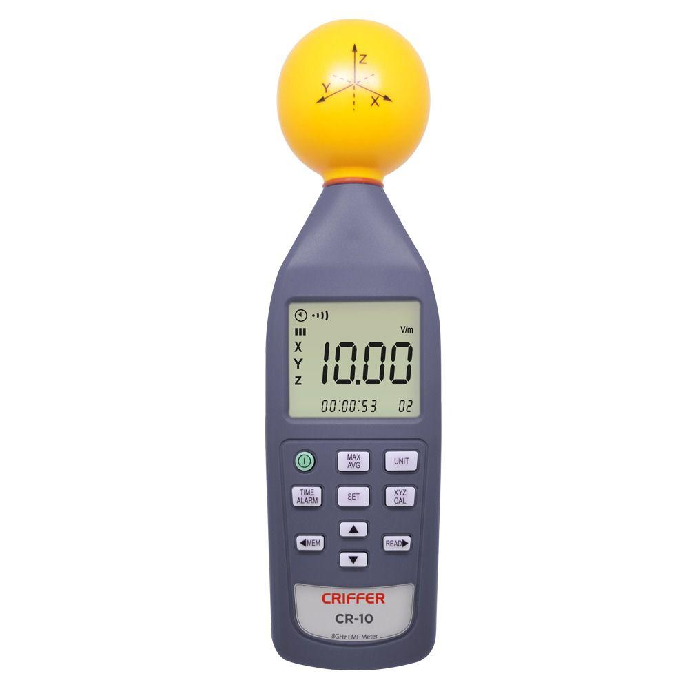 Medidor de campo eletromagnético CR-10