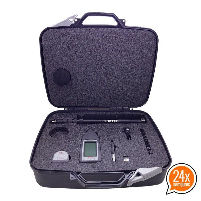 Octava-Plus All-In-One Sonômetro Digital