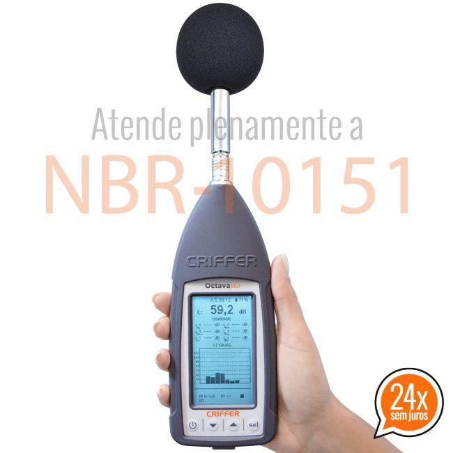 Octava-Plus Sonômetro Digital