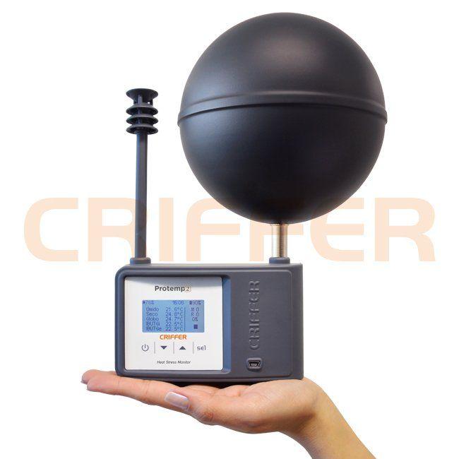 Protemp-2 Termômetro de globo digital com datalogger (IBUTG)