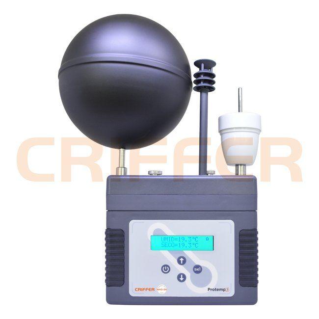 Protemp-3 Termômetro de globo digital com datalogger (IBUTG)