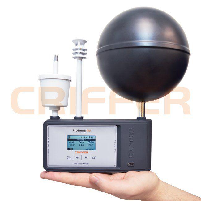 Protemp-lite Termômetro de globo digital com datalogger (IBUTG)