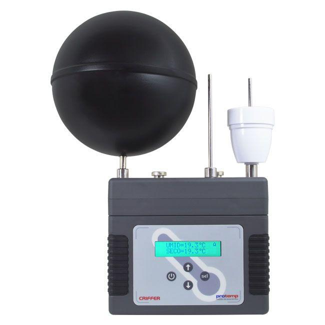 Protemp Termômetro de globo digital com datalogger (IBUTG)