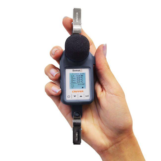 Sonus-2 Dosímetro de ruído digital