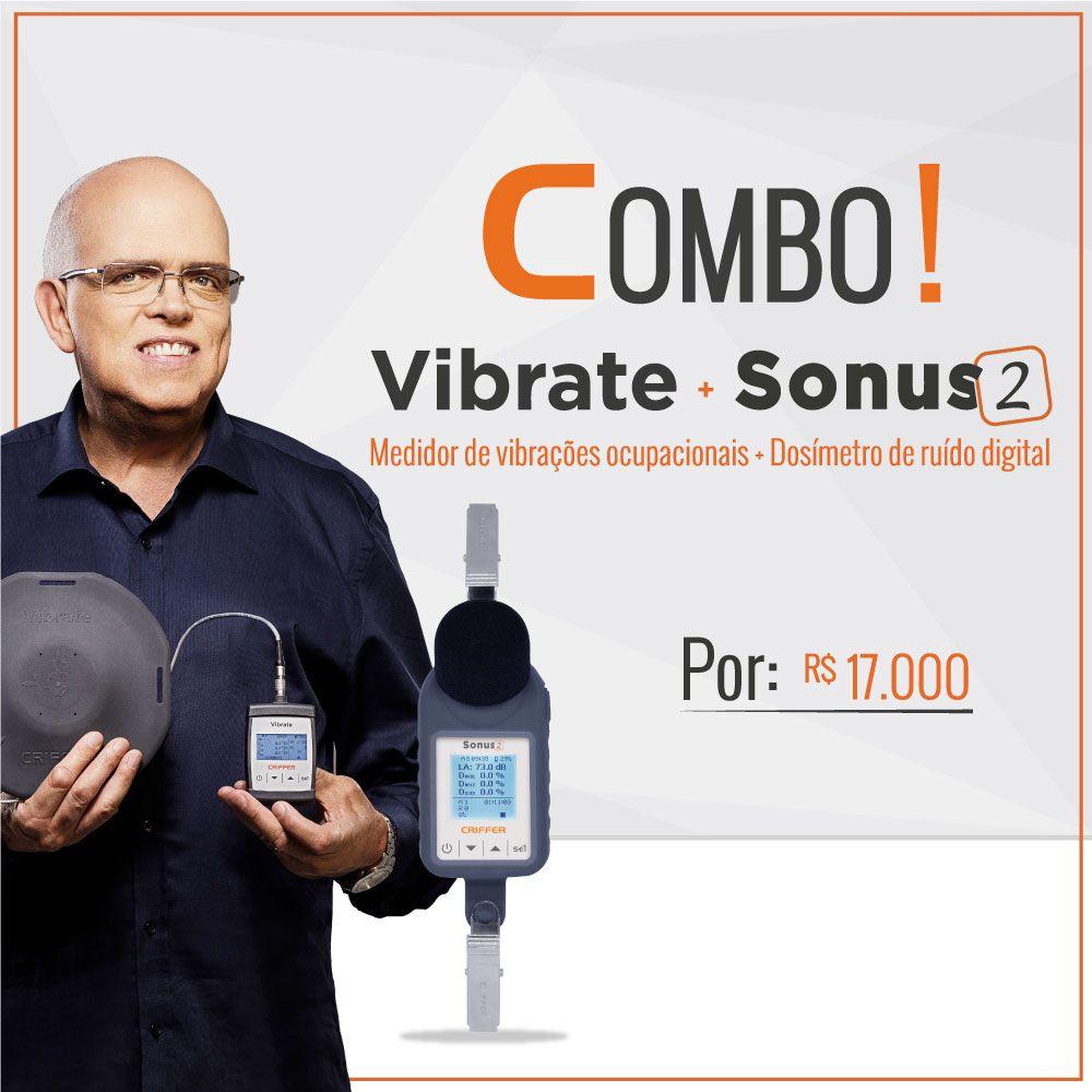 Vibrate Medidor de vibrações ocupacionais VCI e VMB