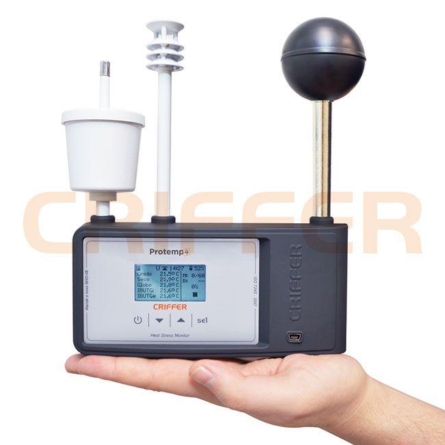 Protemp-4 Monitor de carga térmica con datalogger (IBUTG)