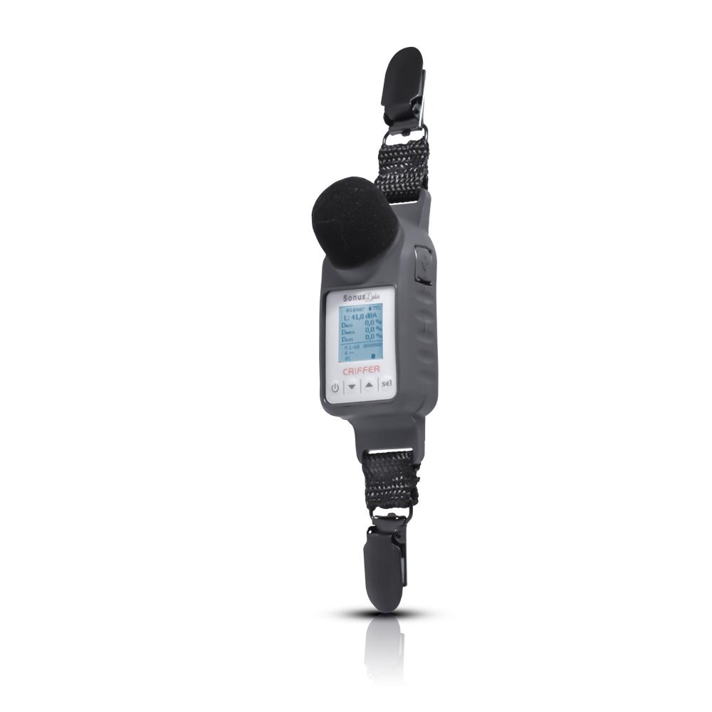 Sonus-2 plus Dosímetro de ruido con filtro de 1/1 y 1/3 de octavas