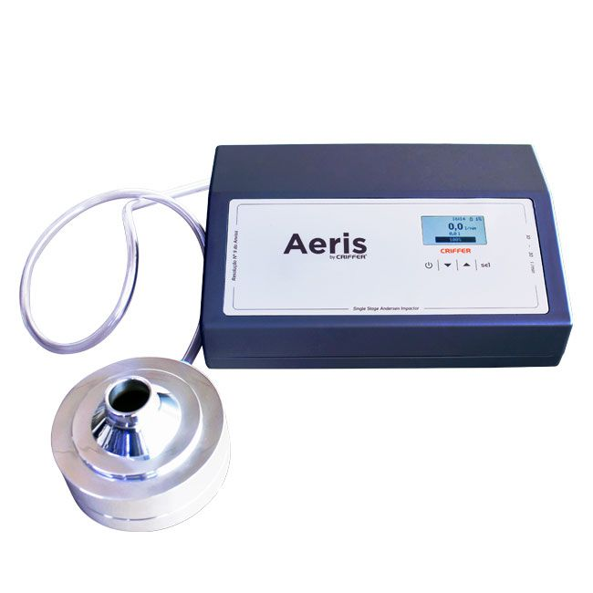 Aeris Single Stage Bioaerosol impaction sampler kit