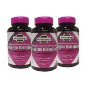 Colágeno Hidrolisado Completo Com  Vitaminas e Minerais Kit Para 06 Meses.