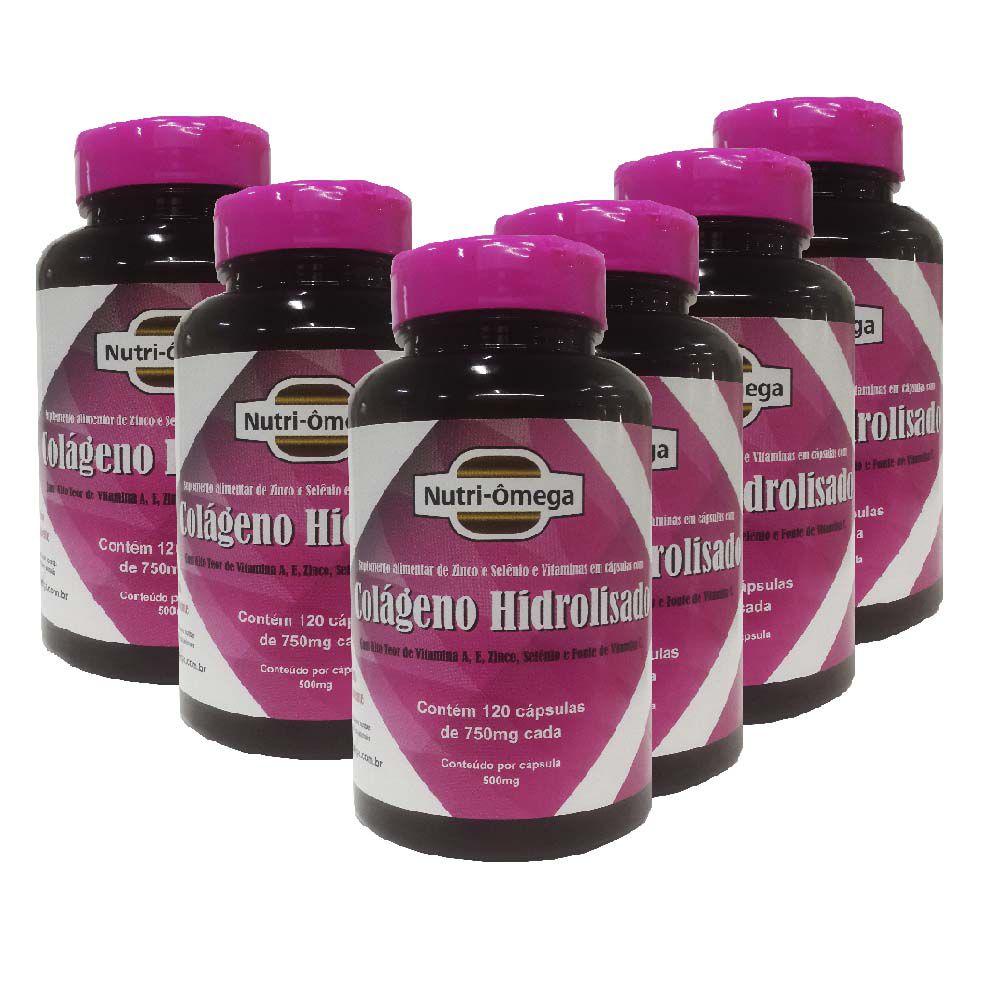 Colágeno Hidrolisado Completo com  Vitaminas E Minerais Kit Para 01 Ano.
