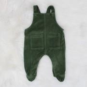 Jardineira de Plush Verde Militar