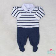 Macacão Théo Azul Jeans + Body
