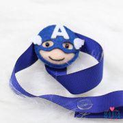 Prendedor de Chupeta Capitão América Azul Bic
