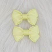 Presilha Bico de Pato Laço Camada Amarelo