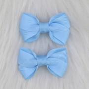 Presilha Bico de Pato Laço Camada Azul