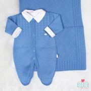 Saída de Maternidade Caio Azul Jeans