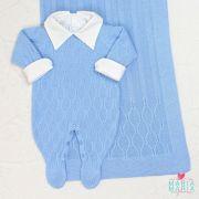 Saída de Maternidade Colméia Azul