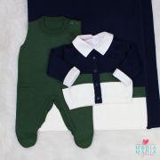 Saída de Maternidade Davi Marinho e Verde Militar