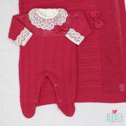 Saída de Maternidade Encanto Pink