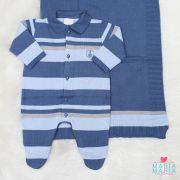 Saída de Maternidade José Listrada Azul jeans