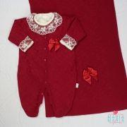 Saída de Maternidade Losango Vermelho