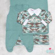 Saída de Maternidade Militar Menta